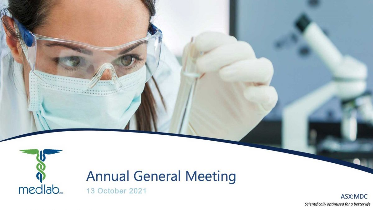 Annual Message to Shareholders October 2021
